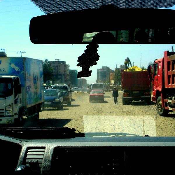 China trucks and vehicles in Ethiopia