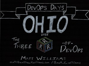 3 R's of DevOps DevOps Days Ohio 18-19 November 2015
