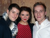 Matt Gillett, Sasi Strallen, Alistair David