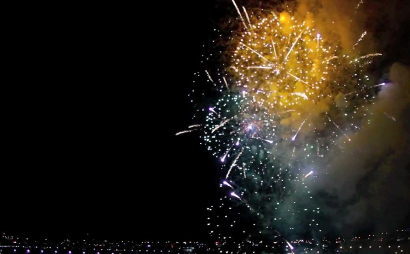 How to make fireworks even more beautiful