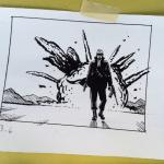 A fun illustration I did for Mastering Comics