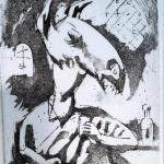 etching/aquatint by Jakob Klemencic