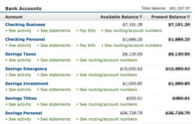 How to Structure Your Bank Accounts for Massive Financial Success | Articles | Matt Olpinski ...