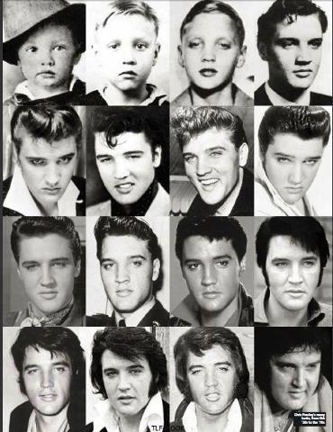 Evolution of Elvis | Matthew's Island of Misfit Toys