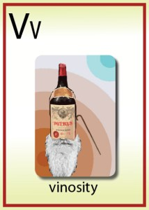 v is for vinosity
