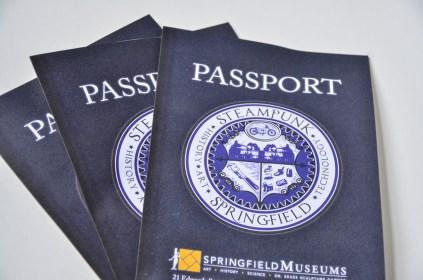 Steampunk Springfield printed programs