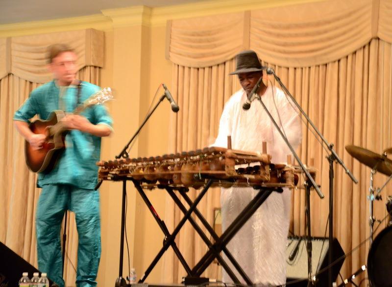 Balla Kouyate at Music for Mali, Chelmsford, MA