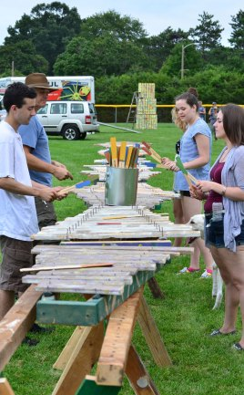 Madinda Project the worlds longest playable xylophone