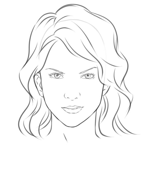 Source: www.wikihow.com How to draw a girl