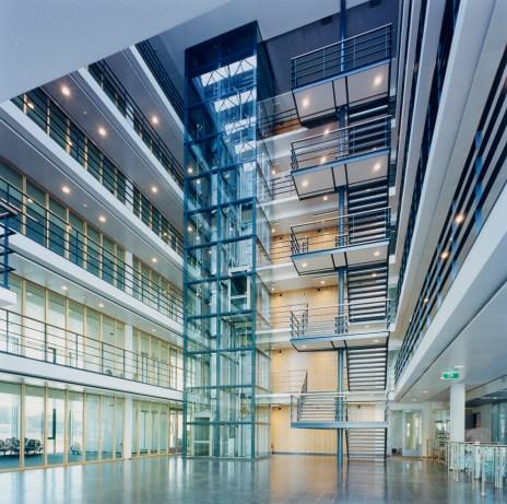 Laboratory Building Atrium