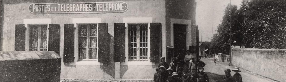 Ancien bureau de poste rural