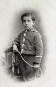 Charles Maurras en 1877.