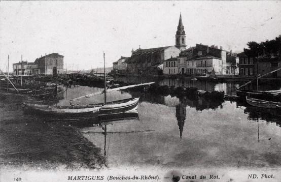 Carte postale de Martigues avant 1916