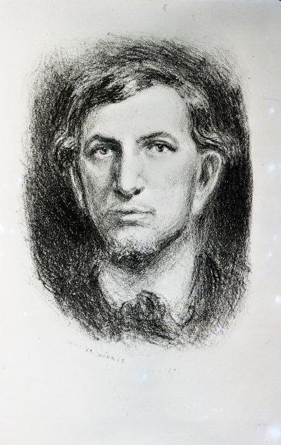 1892 - Charles Maurras par L. Denis-Valvérane