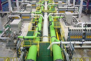 Reverse osmosis desalination plant