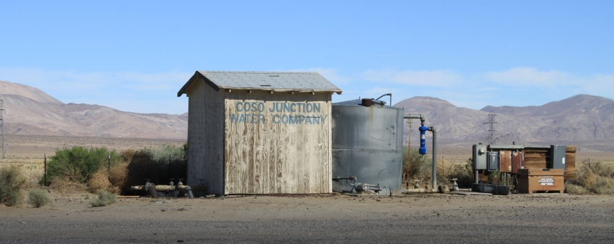 Coso Junction Water Company sliderbox