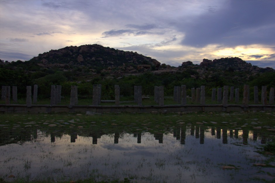 On that Hampi evening