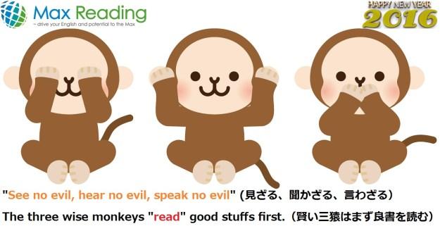 The three wise monkeys 2016 OGP2