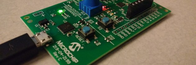 Using Microchip MPLAB Xpress Evaluation Board