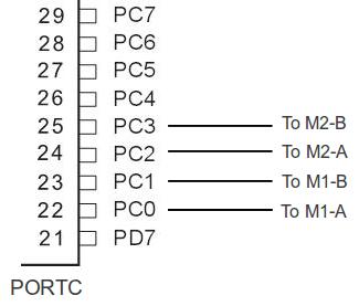 AVR - L293D Connection