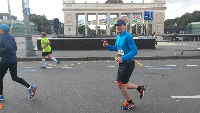 Игорь Киямов и его первый марафон