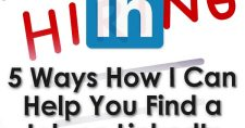 5 Ways How I Can Help You Find a Job on LinkedIn