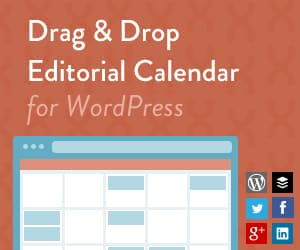 CoSchedule Editorial Calendar for WordPress