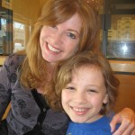 Max with his FIRST acting coach, Ms. Sherri Robertson--now an actress, director and producer!