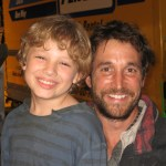 "Maxim with Mr. Noah Wyle on ""Falling Skies"" set"