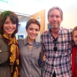 With Mary Paige Kellar, Italia Ricci and Director Patrick Norris on the set of Chasing Life
