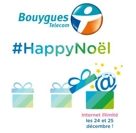 bouygues telecom internet mobile illimit gratuit no l 2014. Black Bedroom Furniture Sets. Home Design Ideas