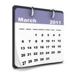 Looking Ahead – Marketing Calendar March 2011