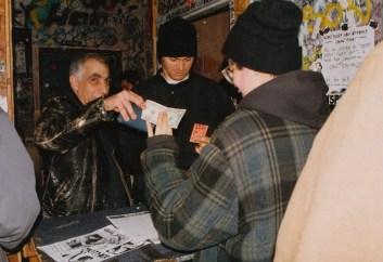 Tim and Martin at Gilman, ca. 1993 (courtesy of David Hayes)