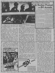 Convention protests from MRR #16 - Aug 1984_4