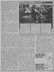 Convention protests from MRR #16 - Aug 1984_6