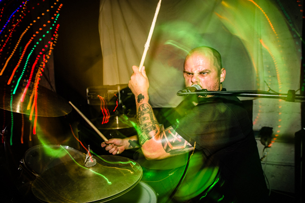 Iron Lung at the Black Lodge in Seattle, WA on Augut 11, 2014. (photo by Rob Hanna)