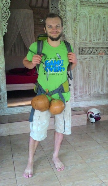 Максон с кокосами