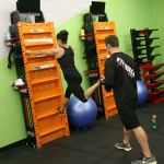 Looking for a new and exciting workout? Fitwall is great for strength training #vertically