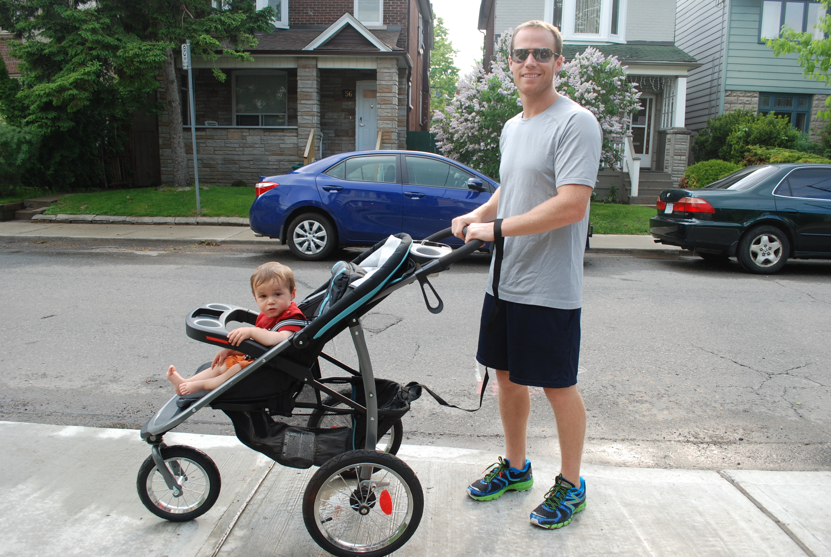 Graco Jogging Stroller Review for getting in shape