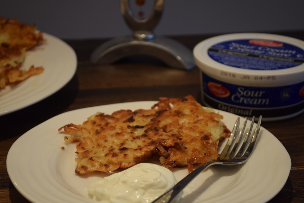 traditional latkes recipe