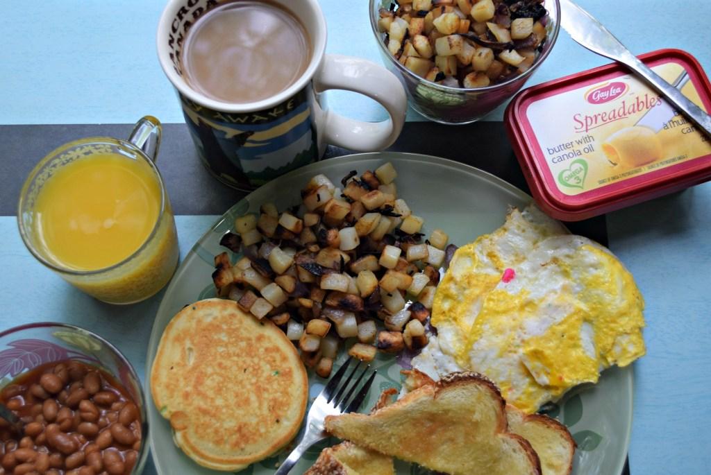 Gay Lea spreadables breakfast