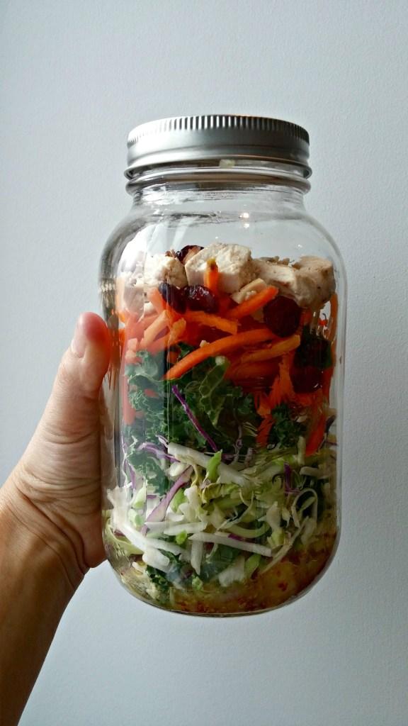 PC Salad in a jar