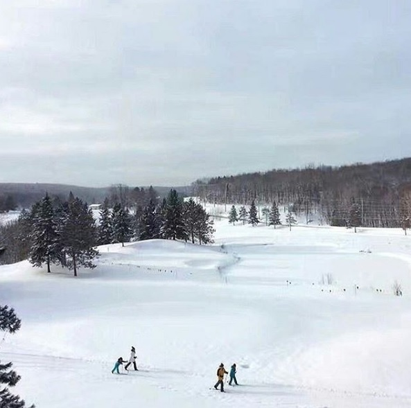 deerhurst cross country skiing