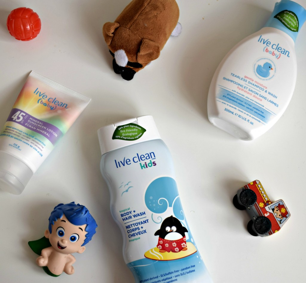 live clean kid products