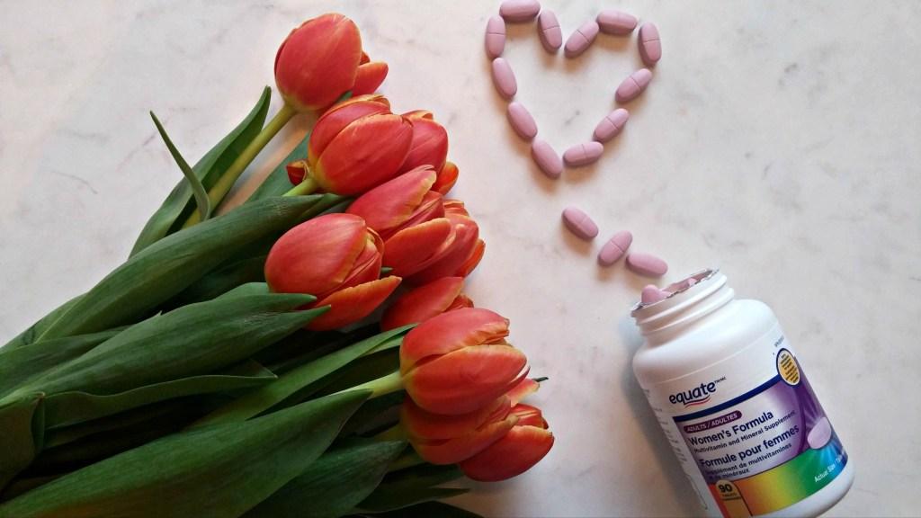walmart equate vitamins heart