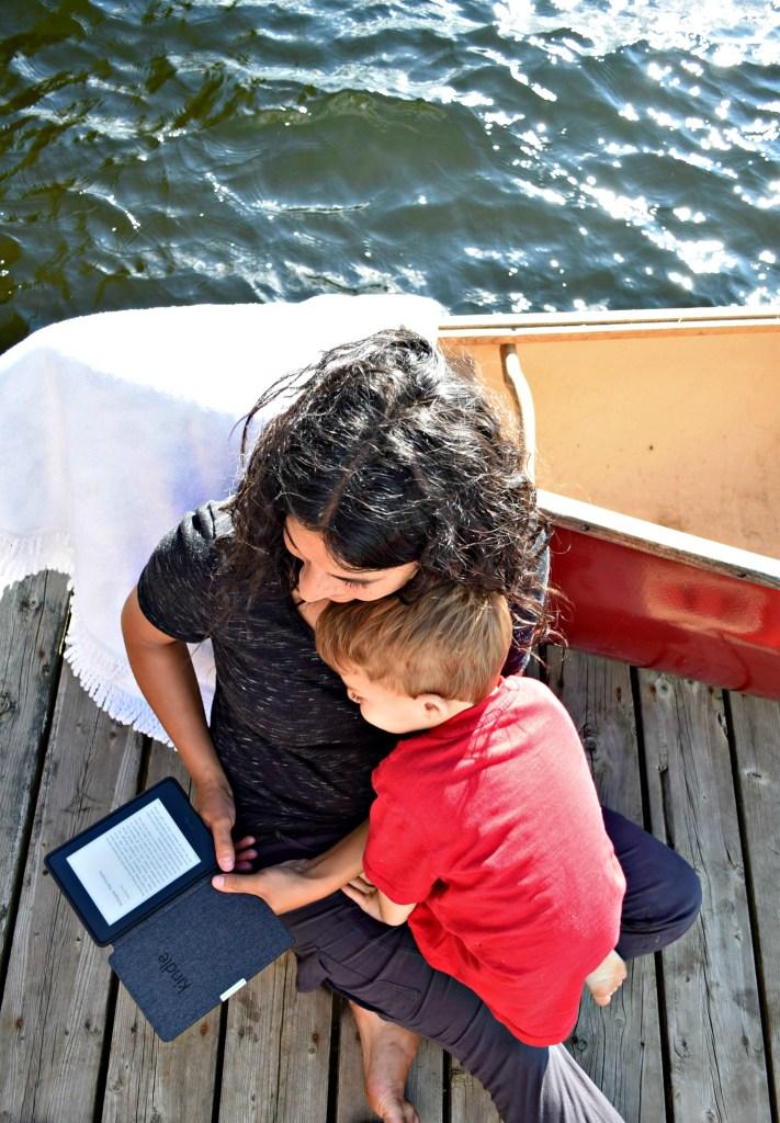 Kindle canoe w Nate 2