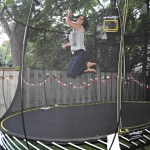 Looking for a fun way to exercise? Jump on a Trampoline!