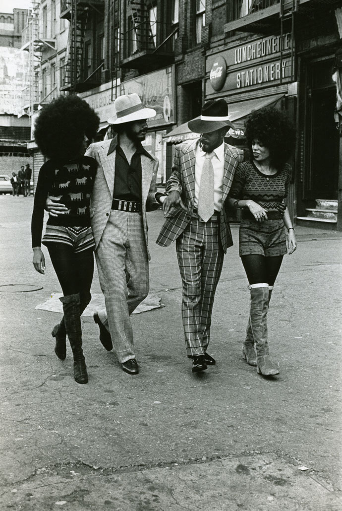 Anthony Barboza, Harlem Series, Couples, c.1970s