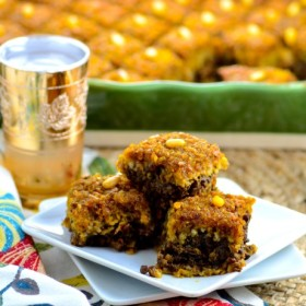 Meatless pumpkin Kibbeh, serve a dish with a Middle Eastern twist at your Thanksgiving table - Vegetarian, vegan, kosher, parve, dairy free