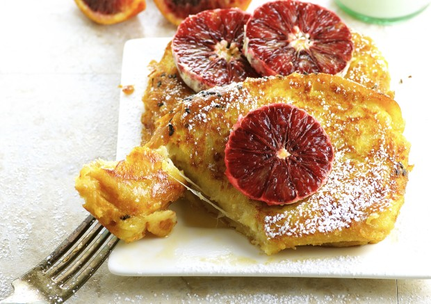 Cheese Stuffed French Toast : Rich, Decadent special breakfast